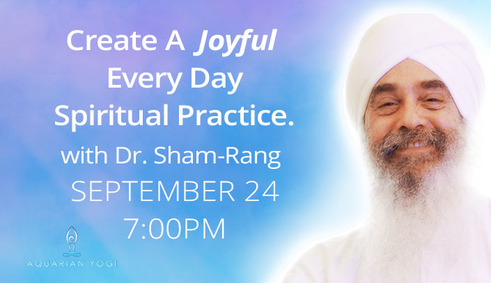 Sadhana- Create A Joyful Daily Practice Webinar