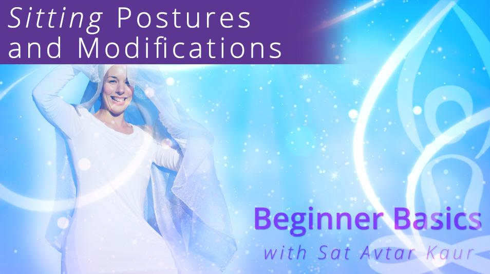Beginner Basics Sitting Postures