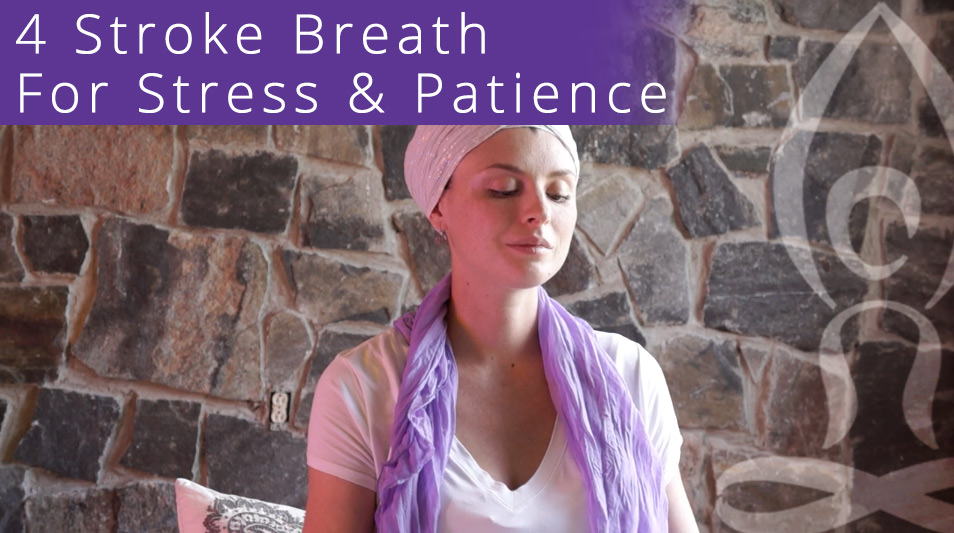 4 Stroke Breath Meditation To Relieve Stress