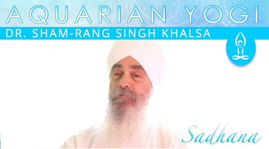 Sadhana Lecture With Dr. Sham-Rang